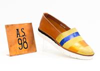 Слипоны женские  A.S.98 (576106) оранжевый