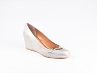 Туфли женские L.Paggi (51503) серебро