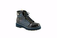 Ботинки женские I.Renzoni (81215) темно синий
